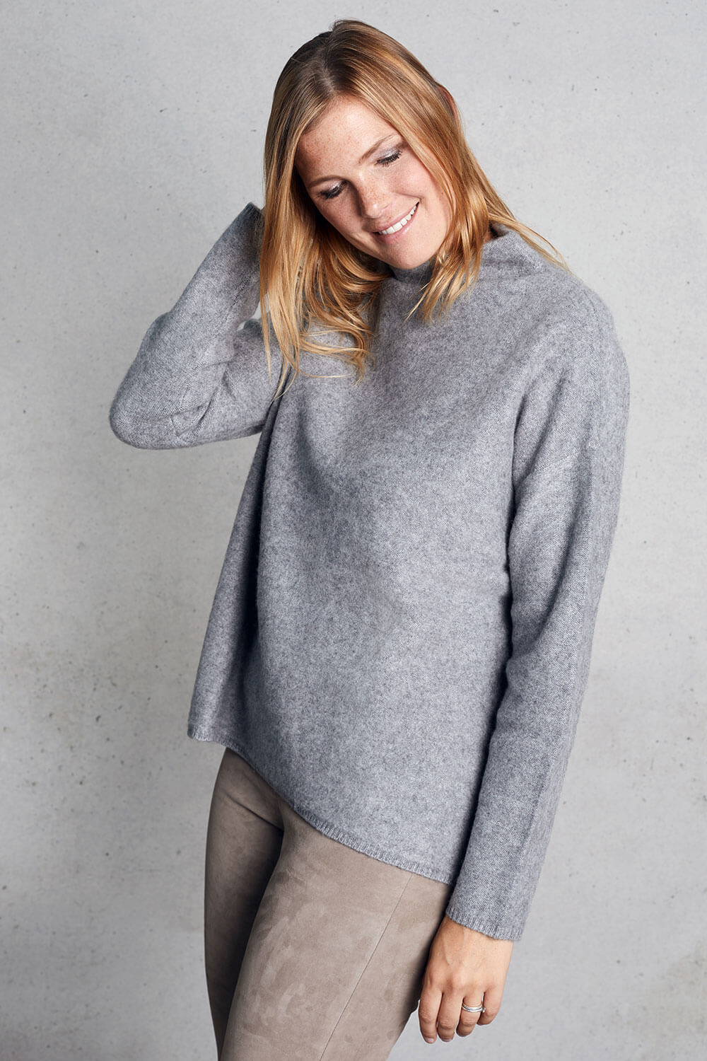 Incentive Cashmere - Sweater grau